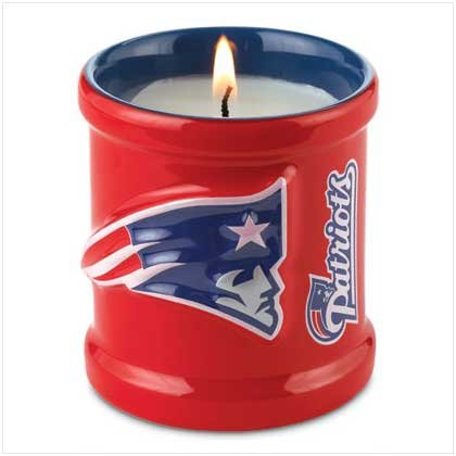 NFL New England Patriots Candle