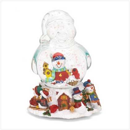Musical Snowman Snowglobe