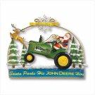 Santa Door Hanger - John Deere