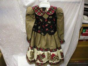 Daisy Kingdom Scottie Dogs Dress