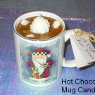 Soy Candle Hot Chocolate Mug  Candles from the heartland