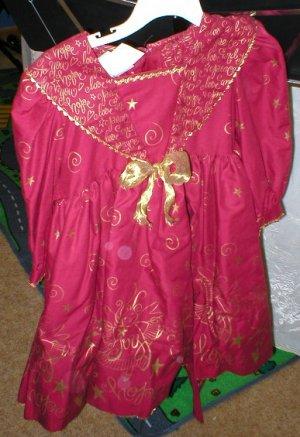 Daisy Kingdom Dress - JOY, burgundy dress