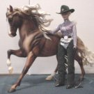 Breyer Rodeo Queen for model Horse shows