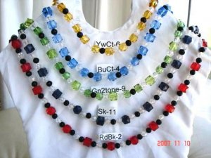 Beautiful necklaces with all the color you prefer