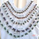 Genuine  Genuine amethyst, aventurine, jade, carnelian, goldstone, or unakite chip or nuggets