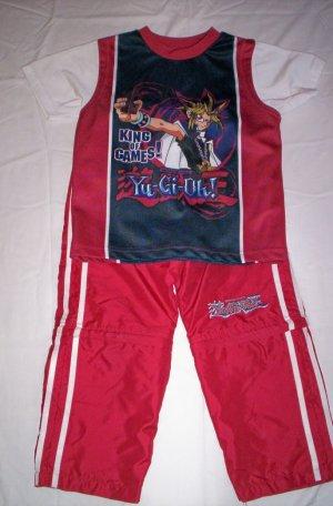 YuGiOh Pants & Shirt Set