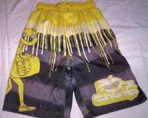 Boy's Swimtrunks, Yellow by Chump