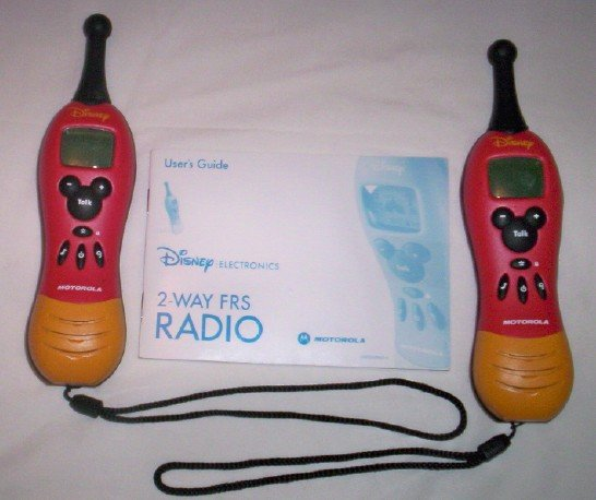 Motorola Disney Classic 2-Way Radios (Pair)