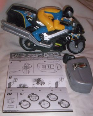 Tyco Wheelie Cycle