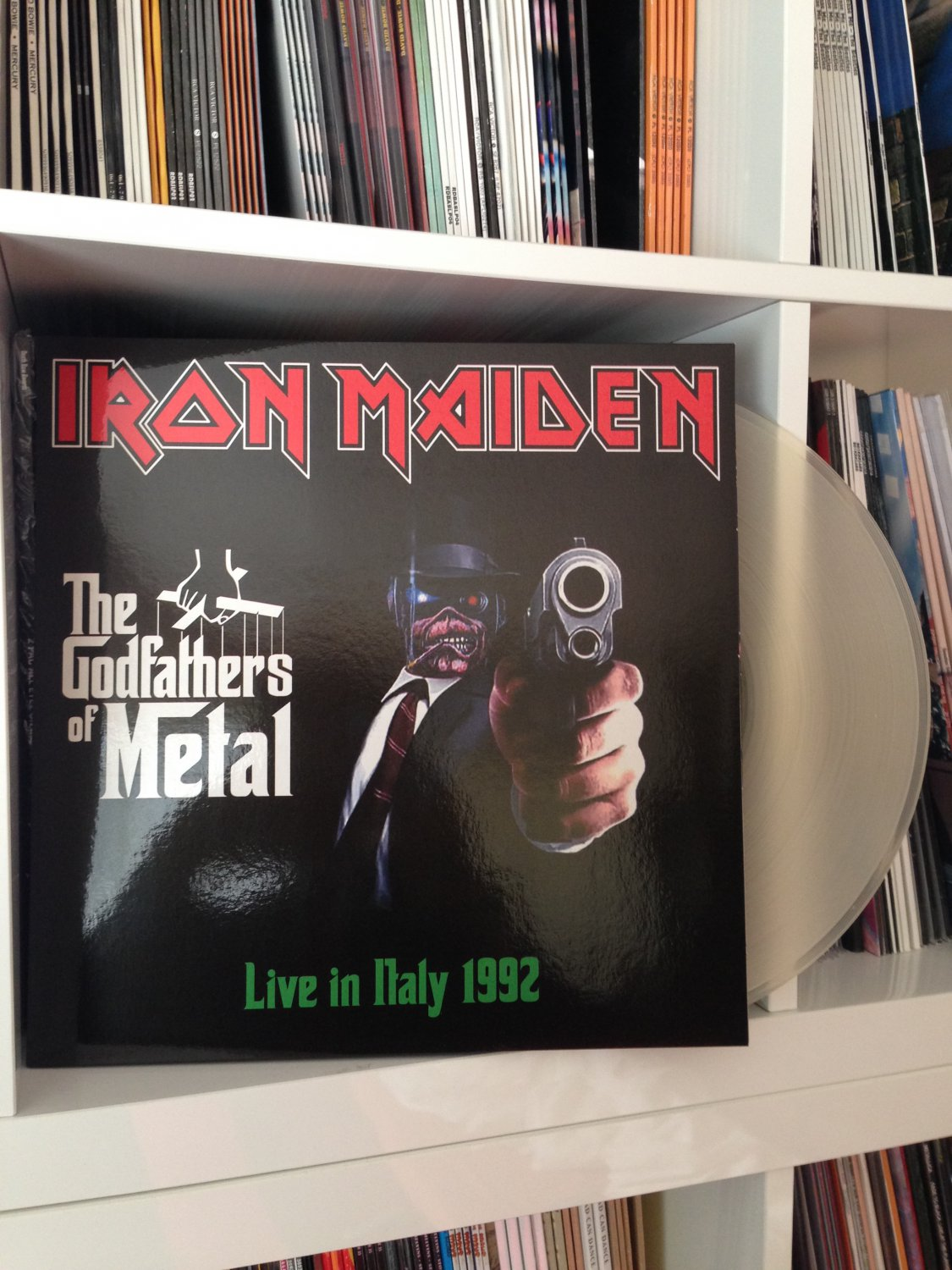 IRON MAIDEN �2LP the godfathers of metal