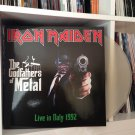 IRON MAIDEN 2LP the godfathers of metal