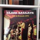 BLACK SABBATH LP live in brussels 1970