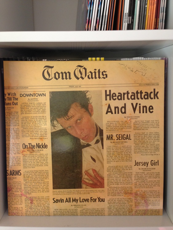 TOM WAITS LP heartattack and vine