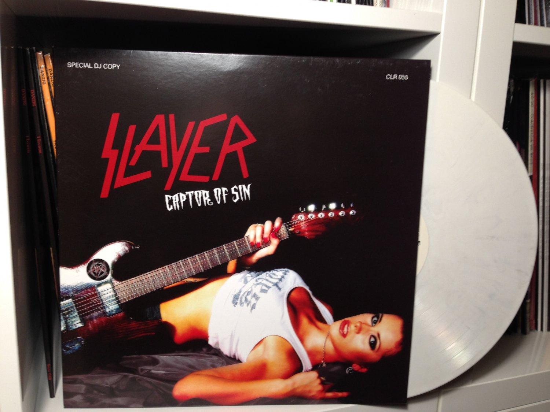 SLAYER LP captor of sin