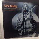 NEIL YOUNG ‎LP every junkie's like a setting sun