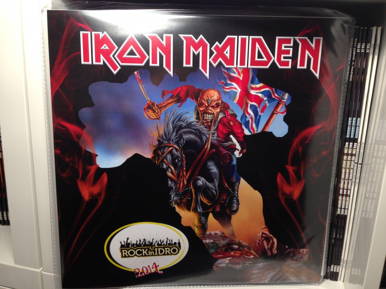IRON MAIDEN LP rock in idro 2014 live bologna