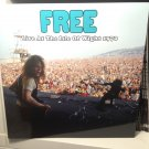 FREE LP live at the isle of wight 1970