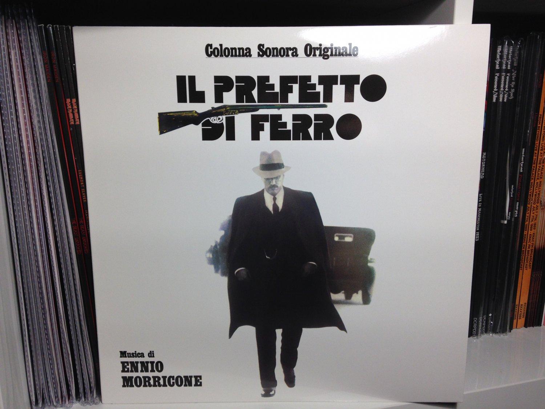 ENNIO MORRICONE LP il prefetto di ferro soundtrack