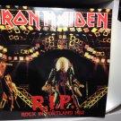 IRON MAIDEN LP r.i.p. rock in portland 1982