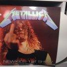 METALLICA LP newkids 1st show