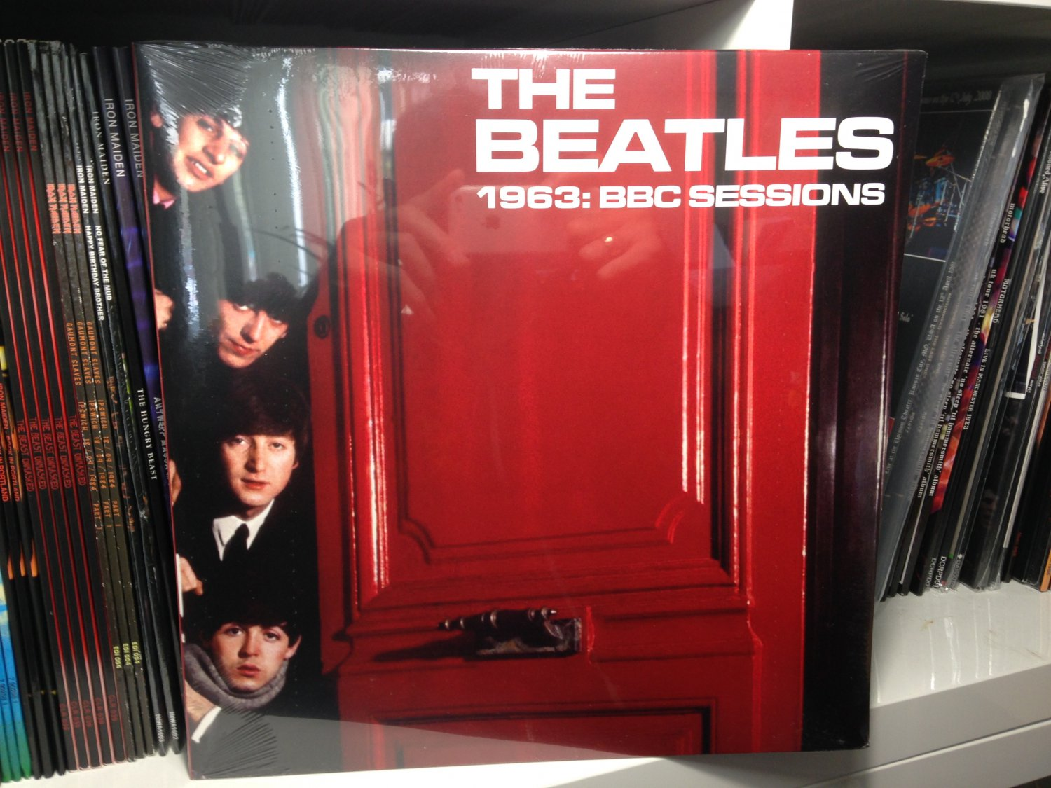 THE BEATLES LP 1963 bbc sessions