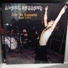 BLACK SABBATH LP live in Lausanne April 1970