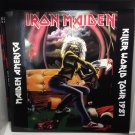 IRON MAIDEN LP iron maiden killer world tour 1981 maiden america