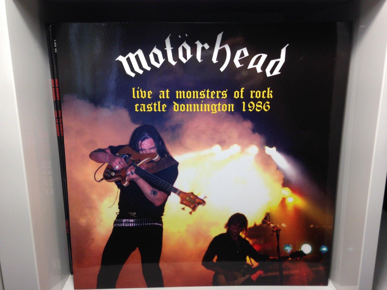 MOTORHEAD LP live at monsters of rock castle donnington ton 1986