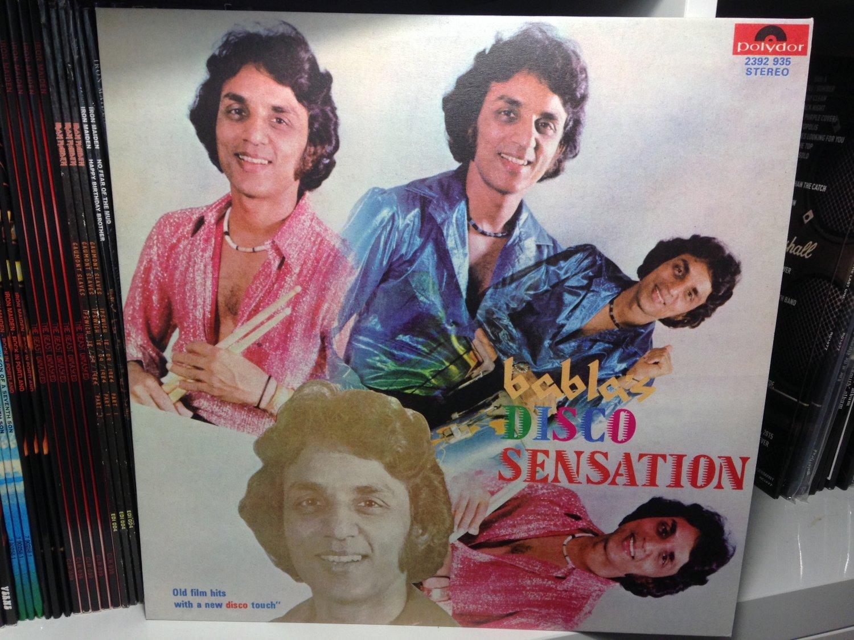 BABLAS ORCHESTRA LP disco sensation