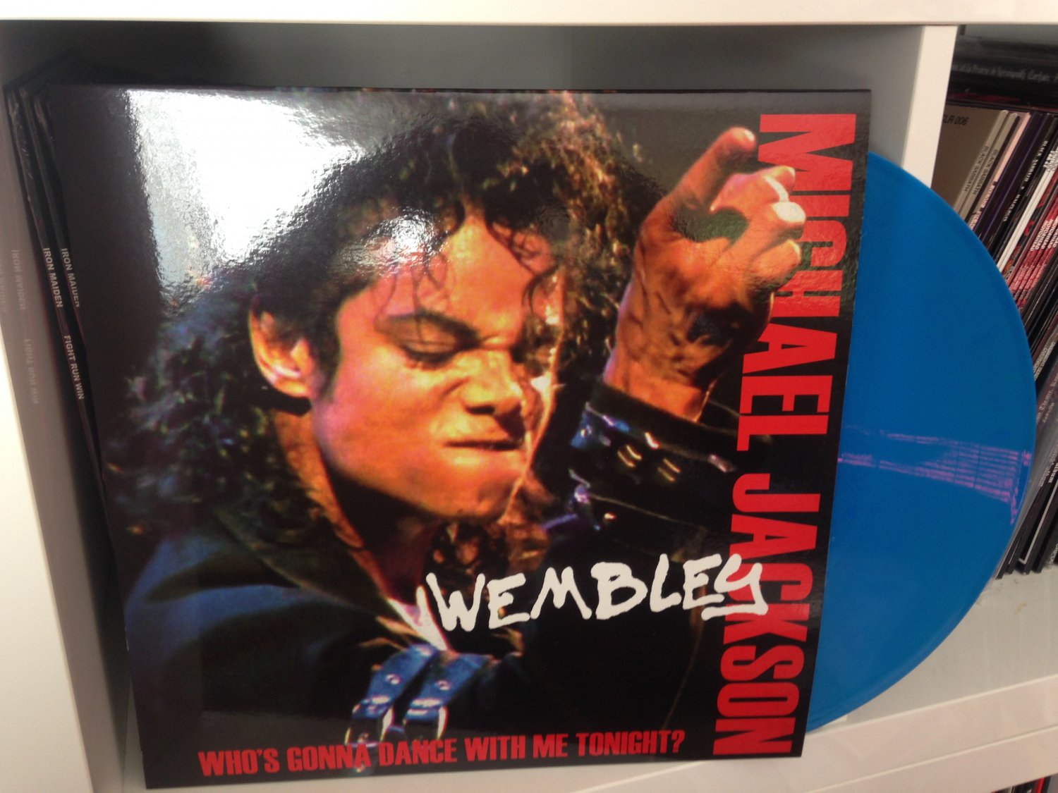 MICHAEL JACKSON LP who's gonna dance with me tonight ?