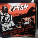 THE CLASH LP live at Birmingham top rank 7th 1977