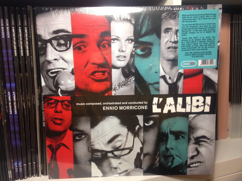 ENNIO MORRICONE LP l'alibi soundtrack