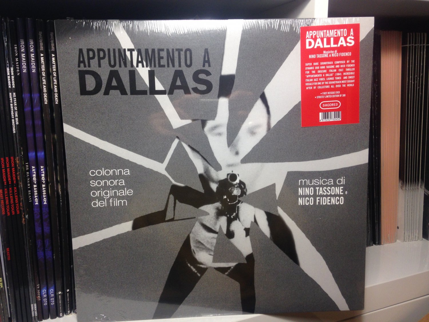 NINO TASSONE E NICO FIDENCO LP appuntamento a dallas soundtrack