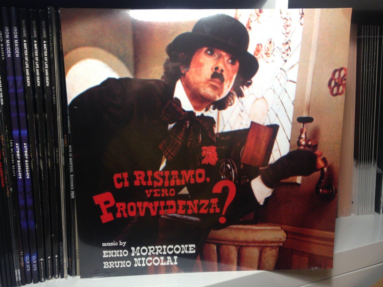 ENNIO MORRICONE LP ci risiamo vero provvidenza? soundtrack