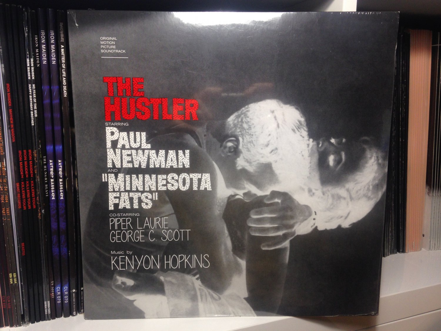 KENYON HOPKINS LP the hustler soundtrack