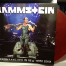 RAMMSTEIN 2LP Weidmanns heil in New York 2010