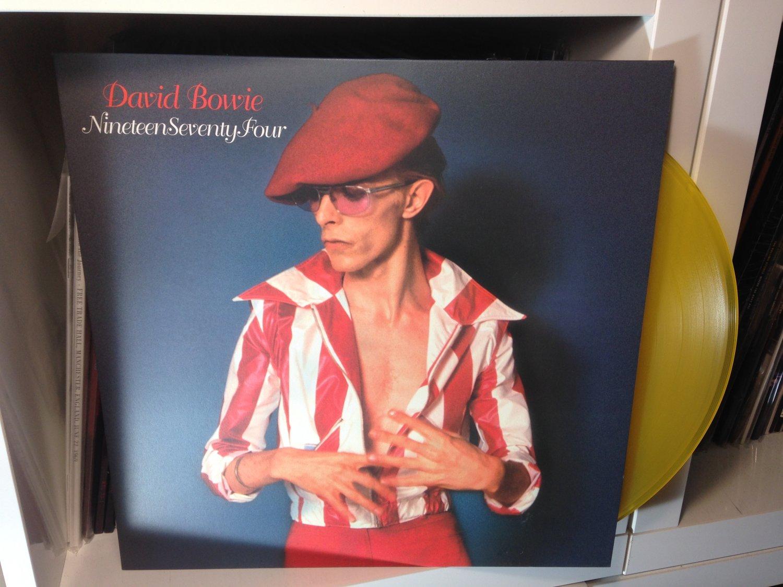 DAVID BOWIE LP nineteen seventy four