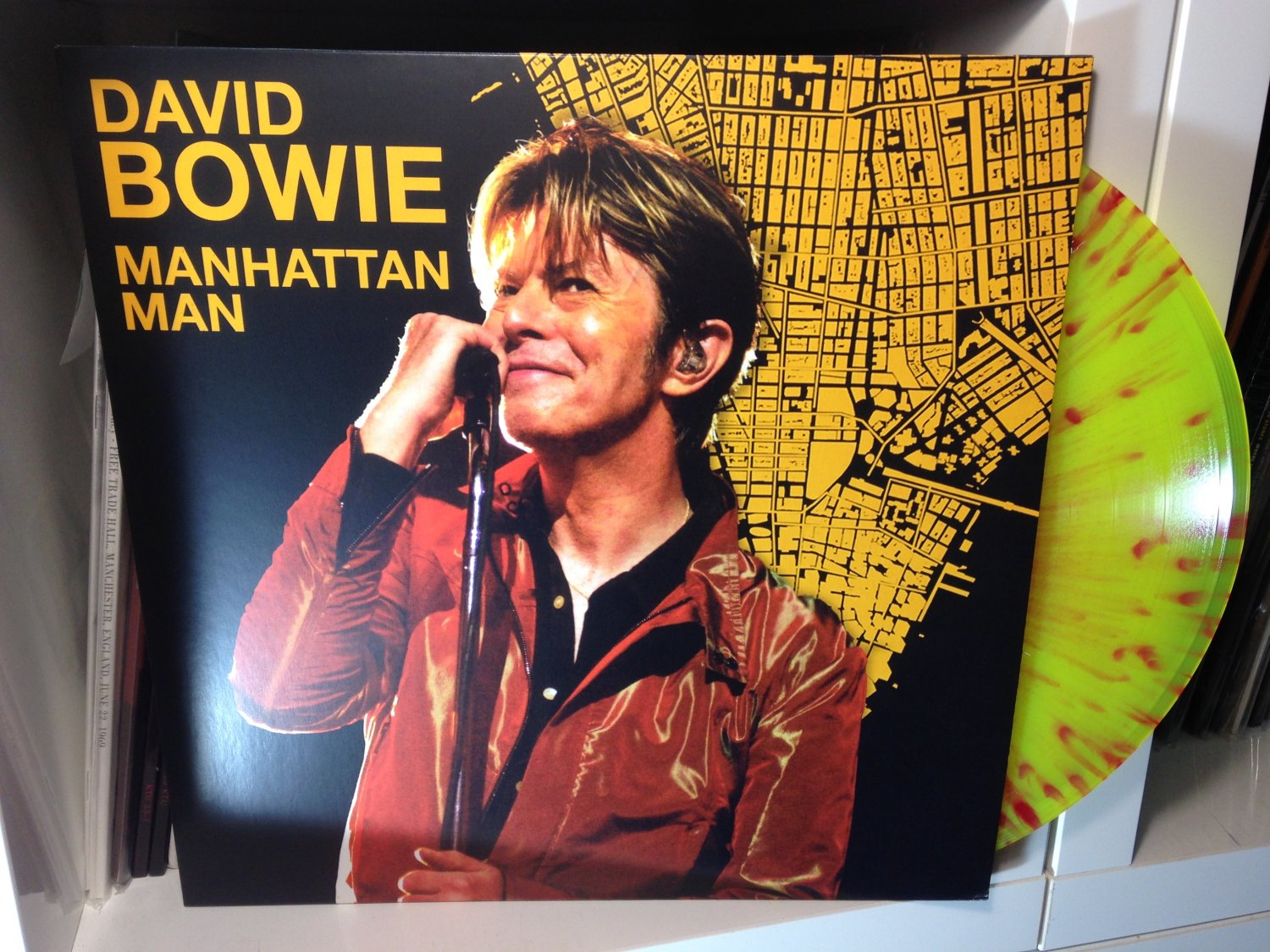 DAVID BOWIE LP Manhattan man