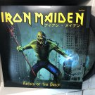 IRON MAIDEN 2PICTURE DISC return of the beast