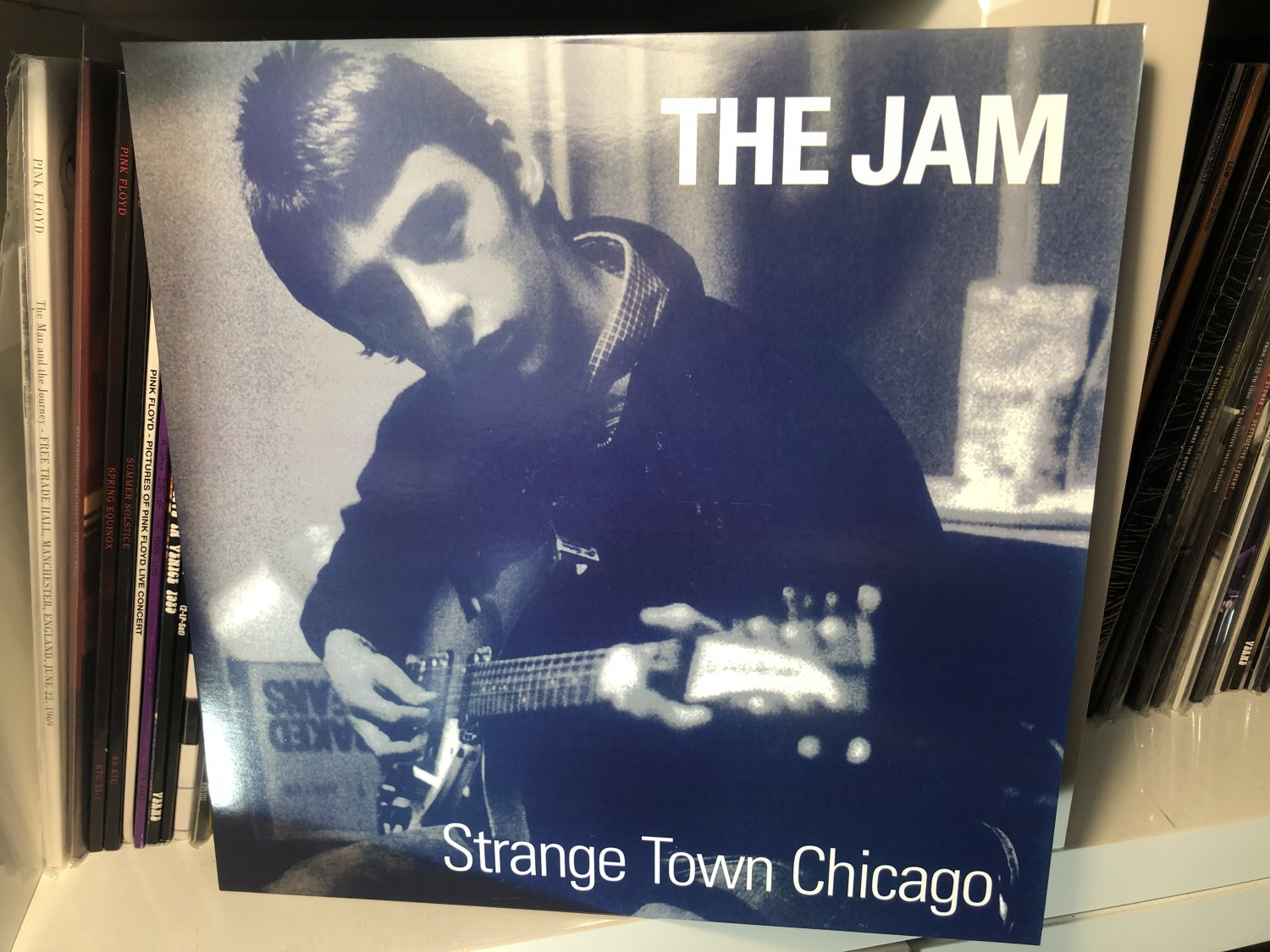 THE JAM LP strange town chicago