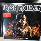 IRON MAIDEN 3LP live chapter, the book of soul