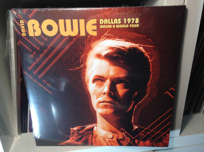DAVID BOWIE 2LP dallas 1978