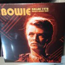 DAVID BOWIE 2LP dallas 1978
