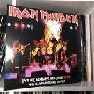 IRON MAIDEN LP live at reading festival 1980