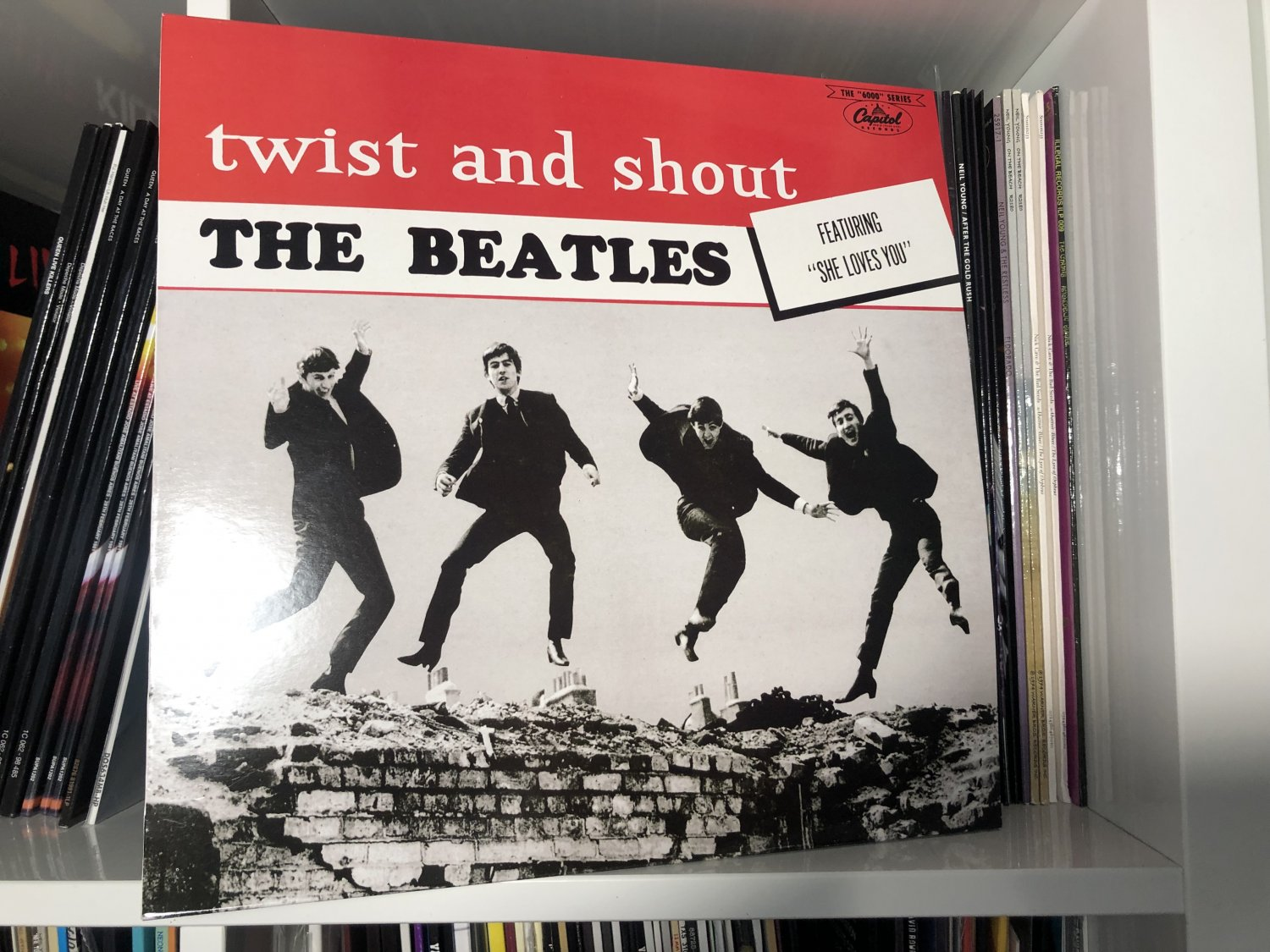 THE BEATLES LP twist and shout