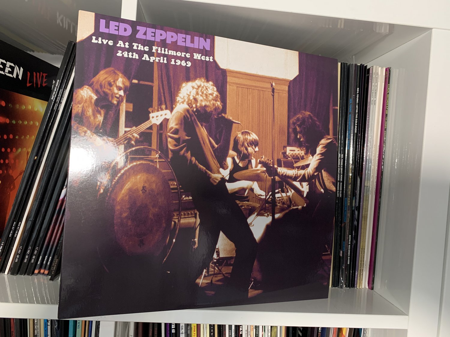 LED ZEPPELIN LP live at the fillmore west 1969