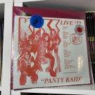 KISS 2LP panty raid, live '77