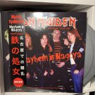 IRON MAIDEN 2LP mayhem in nagoya japanese tour 1981