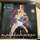 DAVID BOWIE 3LP CUE LINE AND A HANDFUL OF LUDES