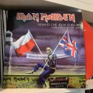 IRON MAIDEN LP behind the iron curtain